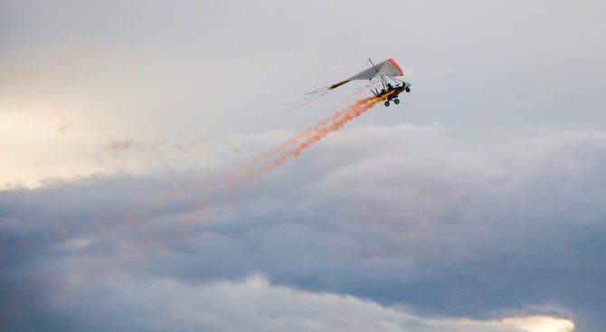 Пилот загина при авиокатастрофа край Мъглиж