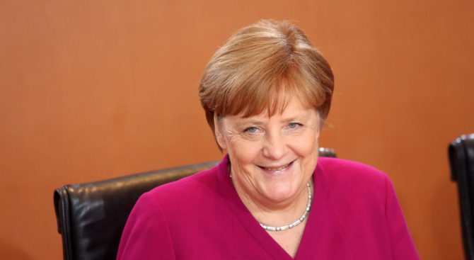 Ангела Меркел станапочетен доктор по правона Харвардския университет