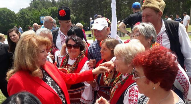Илияна Йотова: Единението е най-голямата почит за паметта на тракийските деца