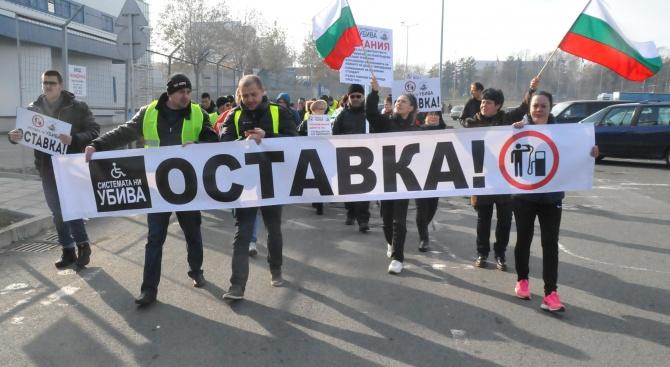 Червен синдикат свиква протестно автошествие навръх рождения ден на Борисов