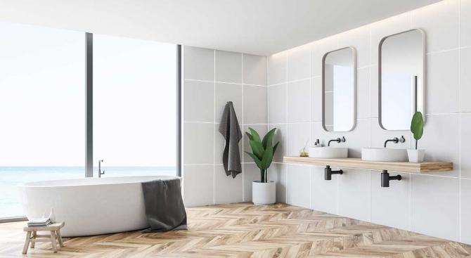Топ тенденции в интериора на банята