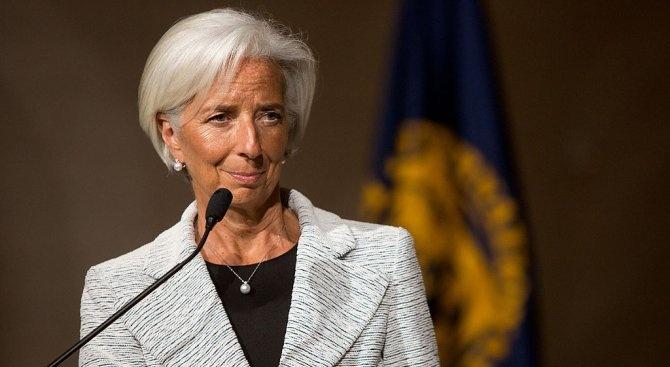 Кристин Лагард: Няма заплаха от глобална рецесия заради митата