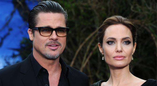 Брад Пит заплашил Анджелина с глоба, ако продължава да бави развода