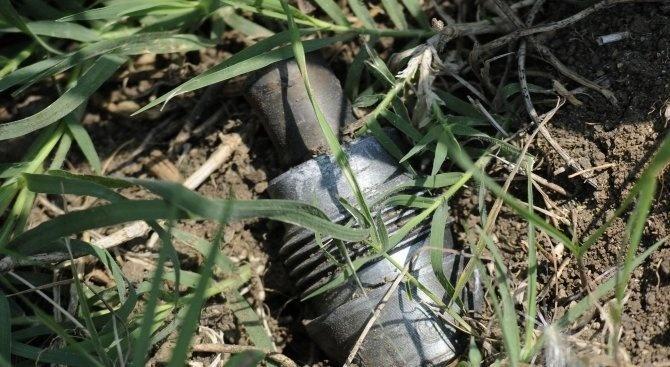 Военни иззеха невзривен снаряд от гробище