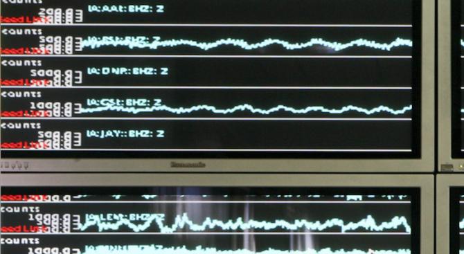 Земетресение край Гърмен