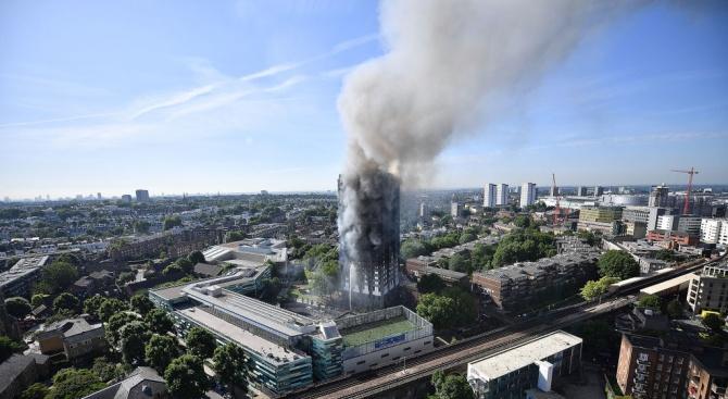 Голям пожар в Лондон