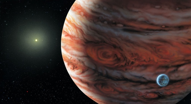 От днес можем да наблюдаваме Юпитер само с бинокъл