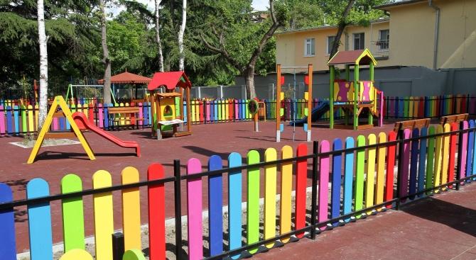 Община Пловдив е вложила 600 000 лева за ремонт на дворовете на детските градини