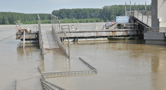 Кметът на Видин отмени обявената първа степен за защита на населението при високи води на река Дунав