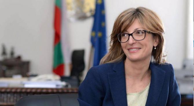 Захариева ще се срещне с министъра на външните работи и международното сътрудничество на ОАЕ
