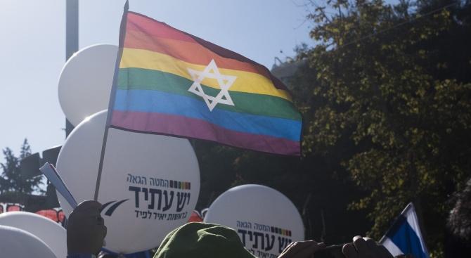 Гейфлагове запалиха скандал в Тел Авив