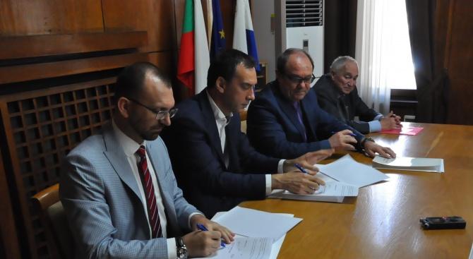 Община Бургас, Областна администрация и БАН подновиха споразумението за сътрудничество