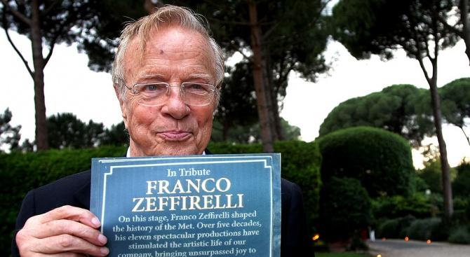 Режисьорът Франко Дзефирели почина на 96-годишна възраст