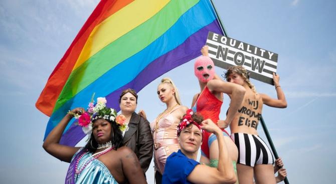 Над 400 000 души се включиха в гей парад във Виена