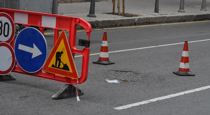 """Ремонтират моста на столичната улица """"Черковна"""""""