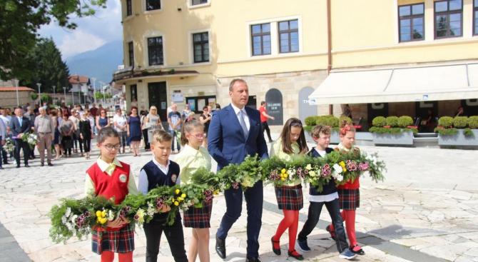 Банско почете паметта на своя велик съгражданин Преподобни Свети Паисий Хилендарски