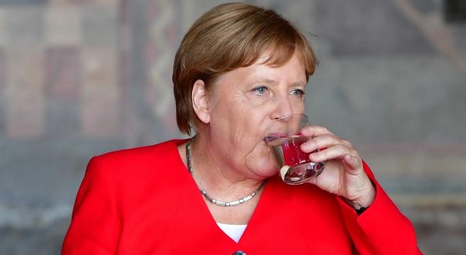 Меркел вече се чувства по-добре