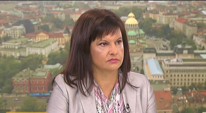 Даниела Дариткова: БСП искаха пазарлък за субсидията