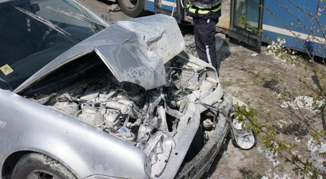 Катастрофа на пътя Силистра-Шумен, една жена е ранена