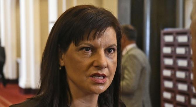 Даниела Дариткова: Нямаше гласуване за субсидиите, защото нямаше доклад