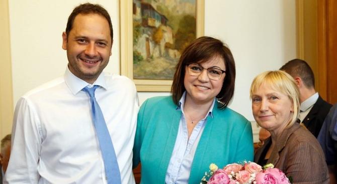 От ПГ на БСП изпратиха Елена Йончева и Петър Витанов за ЕП