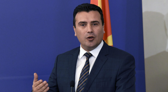 Зоран Заев внася утре предложение за промени в кабинета