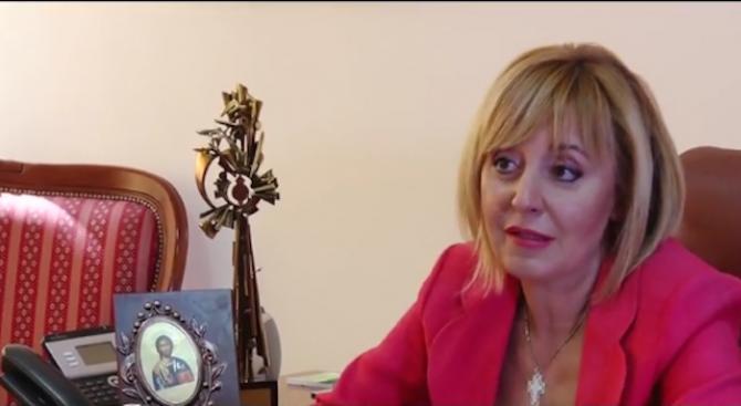 Мая Манолова разкри ще се кандидатира ли за кмет на София от БСП
