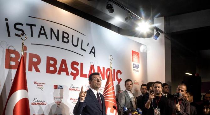 Милиони избиратели ще гласуват днес на изборите за кмет на Истанбул