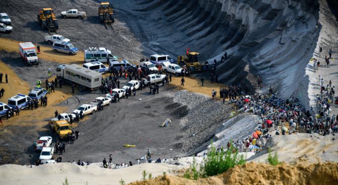Германски екоактивисти окупираха въглищна мина