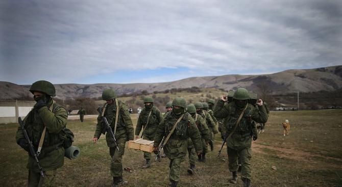 Русия вдигна хиляди войници на крак