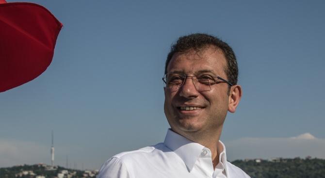 Официално: Екрем Имамоглу е кмет на Истанбул