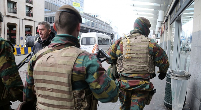 Белгийската прокуратура търсиавтор на заплаха за атентатв Брюксел