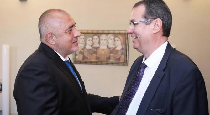 Борисов се срещна с шефа на ОЛАФ, надяват се сътрудничеството да продължи