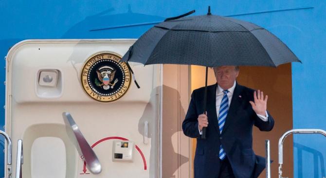 Тръмп пристигна вЯпония за срещатана Г-20