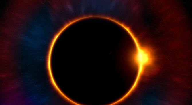 Пълно слънчево затъмнение ще има над Южна Америка следващата седмица