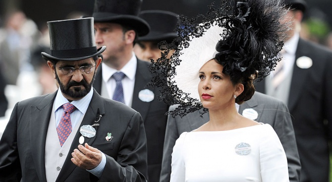 Съпругата на дубайски шейх избяга с 31 млн. паунда