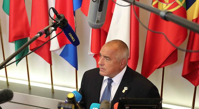 Бойко Борисов: Много от колегите са против Кристалина, понеже е напуснала навремето поста си