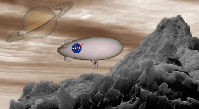 Безпилотният модул на НАСА ще кацне на сатурновата луна Титан през 2034 г.