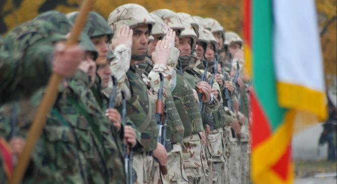 Военнослужещи отбелязаха Деня на гарнизон Пловдив