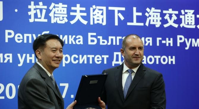 Румен Радев: България трябва да търси по-активно туристически контакти с Китай