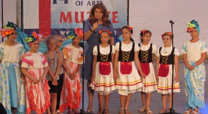 """Вицепрезидентът откри 14-ия международен младежки фестивал """"Музите"""""""