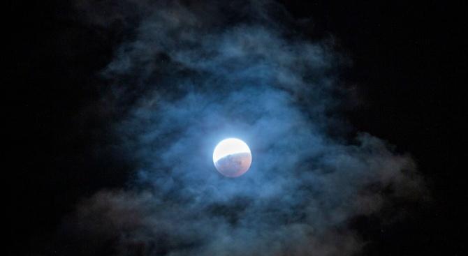 Лунното затъмнение обърква емоциите, изкривява реалността