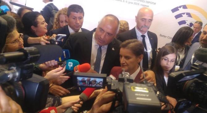 Ана Бърнабич: Борисов не се кара със сърбите
