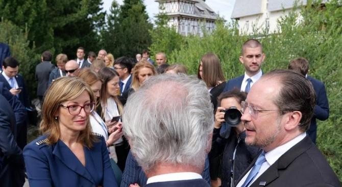 Захариева на министерската среща на ОССЕ: Трябва да облекчим живота на хората в зони на конфликт