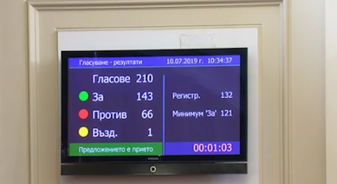 Депутатите приеха повторно Закона за устройство на Черноморското крайбрежие