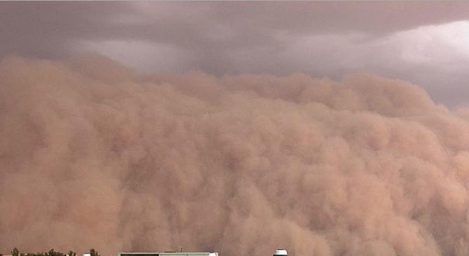 """От ТЕЦ """"Брикел"""" коментираха прашната буря в Гълъбово"""