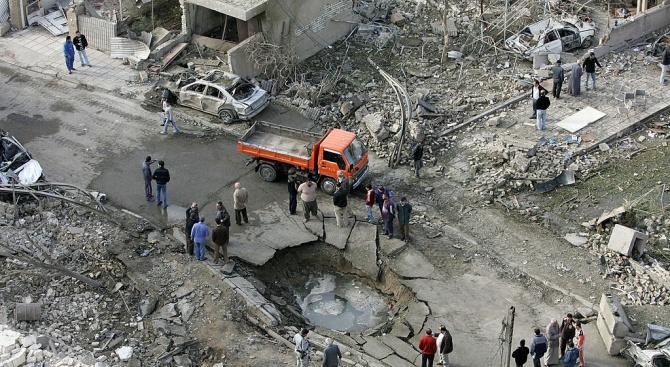 Кола бомба пред православна църквав Сирия рани 11 души,трима от които тежко