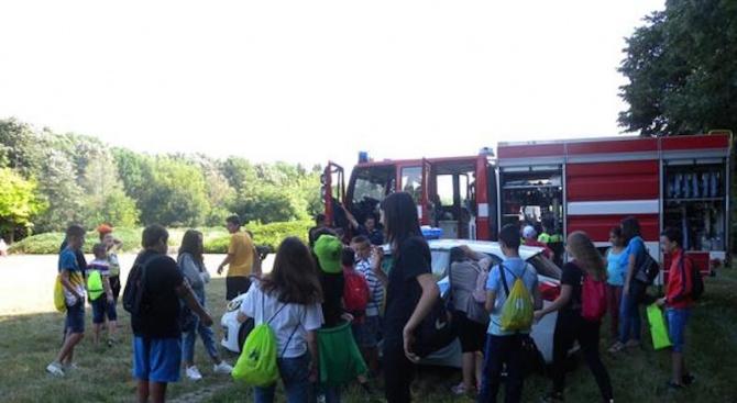 Детска академия по безопасност започна в Разград