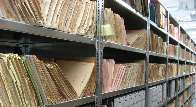 Гори най-големият архив за литература и изкуство в Русия