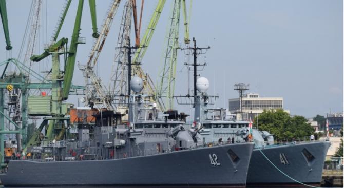 "Започна националното военноморско учение с международно участие ""Бриз 2019"""